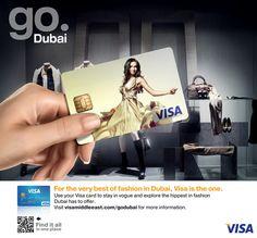 VISA Go Dubai by Giuseppe Parisi, via Behance
