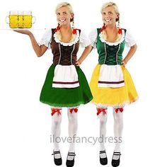 "Mesdames /""Cheers/"" Pom-Pom girl vert robe fantaisie St Patricks Costume Cheer leader"