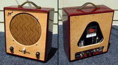 Siegmund Muddy Buddy   1 Watt Guitar Subminiature Micro Tube Amp