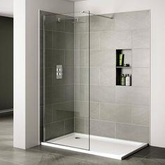 Seven Gigantic Influences Of Bathroom Wet Room Flooring Shower Panels, Small Bathroom With Shower, Walk In Shower Enclosures, Glass Shower, Small Bathroom Decor, Simple Bathroom, Shower Screen, Shower Enclosure, Shower Tub
