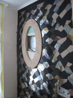 Gästebad Mit Mosaik Aus Marmor Und Platin   Wand  Und Bodenverkleidung  Entwurf By Www.