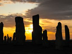 Stones of Callanish, Isle of Lewis. Sunset.  This is the photo I see whenever I turn on my iPhone!
