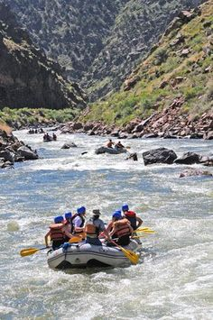 White water rafting - Bighorn Sheep Canyon  http://www.pagosaspringsluxproperties.com