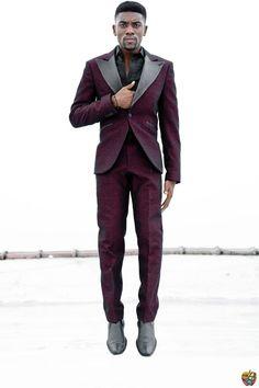 Burgundy Tuxedo.  Yes to the entire ensemble.