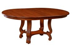 Amish Arlington Pedestal Table