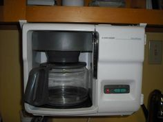 Under Cabinet Coffee Maker | Under Counter Black And Decker Coffee Maker  For Sale In Stratford