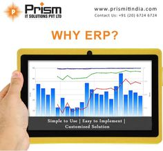 #ERPcompany #powefulfeatures #implementation                             For more details please visit us at http://www.prismitindia.com/ or Contact us at 020-67246724
