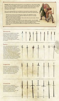 Who created these? I would like to see more. - Album on Imgur Fantasy Weapons, Fantasy Rpg, Medieval Fantasy, Bastard Sword, Dark Ages, Drawing Swords, Witcher Armor, D&d Dungeons And Dragons, Dungeons And Dragons Homebrew