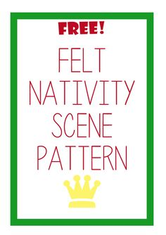 Have the Nativity come alive with this FREE pattern!