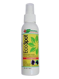 Hot Spot AntiItch Spray EcoSpot provides immediate relief of hot spots on dogs  allows healing to begin 1Step Just spray hotspot  let dry All natural formula Made in USA 100 Guaranteed *** Find out more about the great product at the image link-affiliate link #SkinAllergies