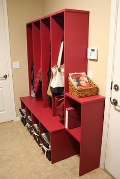 ... about garage/mudroom on Pinterest | Lockers, Mud rooms and Garage