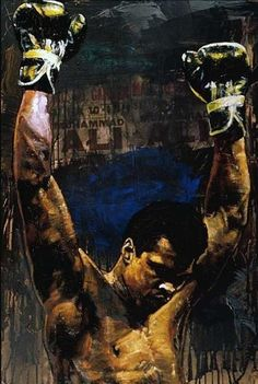 Boxe Fight, Boxing Tattoos, Muhammad Ali Boxing, Boxing Posters, Boxing History, Sports Art, Box Art, African Art, Black Art