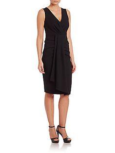 KOBI HALPERIN Celeste Dress - Black - Size