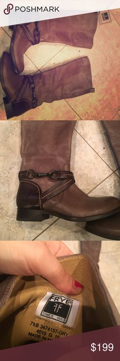 NWOT Frye boots New. My wide calves are your gain. Frye Shoes