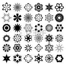"""Résultat de recherche d'images pour """"fleurs graphiques tatouages"""""""
