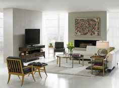 Stanley Furniture on The Design Network. Mid-century style interpreted to fit today's home.