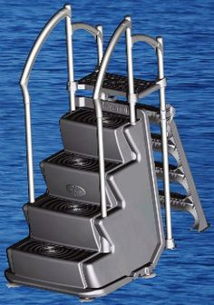 61 Best Pool Steps and Ladders images | Pool steps, Above ...
