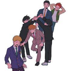 Otaku, Jojo's Bizarre Adventure, Manhwa, Mob Psycho 100 Anime, Mob Physco 100, Mobb, Demon Slayer, Anime Artwork, One Punch Man