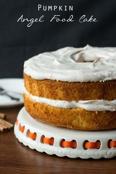 Pumpkin Angel Food Cake on MyRecipeMagic.com. This pumpkin angel food cake has a lightly spiced Cool Whip frosting that complements it perfectly. Read more at http://myrecipemagic.com/recipe/recipedetail/pumpkin-angel-food-cake#cDTtTPzQ1V3qdKj8.99