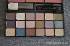 Avon Color Fold-Up Palette (Swatches and FOTD)
