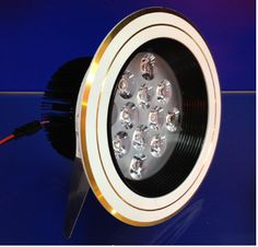 12*1w led down light 140*90MM