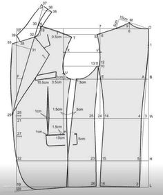 how i can get training to do pattern Blazer Pattern, Suit Pattern, Collar Pattern, Jacket Pattern, Coat Patterns, Dress Sewing Patterns, Clothing Patterns, Tailoring Techniques, Sewing Techniques