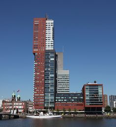 Montevideo - Rotterdam, The Netherlands;  a residential building designed by Francine Houben of Mecanoo Architects;  photo by rick ligthelm, via Flickr