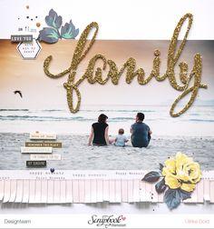 """Layout """"Family"""" - Maggie Holmes """"Bloom"""" / SBW Märzkit 2016 - von Ulrike Dold"""