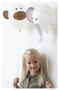 Animal balloons!