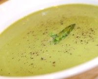Addicted To Raw's Cream of Asparagus Soup