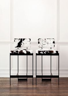 Contralto Bar & Counter Stool by the Canadian design firm Powell & Bonnell.