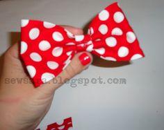 SewSara: Super Easy No-Sew Bows!