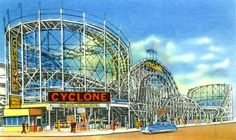 For National #RollerCoasterDay, we're all about the Cyclone! Tried it? Take the ride!