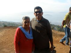 Me with mother