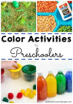 Coloring Activities for Preschoolers Awesome 30 Activities to Explore Colors Pre K Pages Preschool Color Theme, Preschool Color Activities, Pre K Activities, Preschool At Home, Preschool Science, Preschool Lessons, Preschool Classroom, Preschool Learning, Preschool Activities