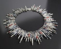 jewelry made of paper