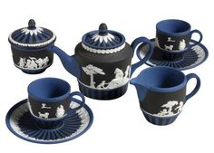 Wedgwood Saxon Blue Black