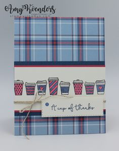 Coffee Theme, Coffee Cards, Paper Smooches, Some Cards, Fall Cards, My Stamp, Paper Cards, Homemade Cards, Stampin Up Cards
