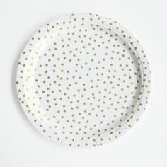 Gold Star Paper Plates