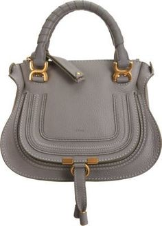 Chloé Marcie Mini Satchel with Strap - would be  perfect  purse for me.if  it wasn t more than a mortgage payment! 670571ff6ad52