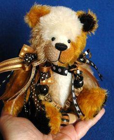 Adorable *wallet* Bear ~ By Artist Jackie Melerski Of Gilmur Rudley Bears ~ #3 Bears