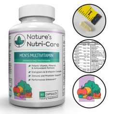 Natures NutriCare Multivitamin for Men 60 Capsules Essential Vitamins Antioxidants and Minerals Complete Male Support Blend Immune Blend and Energy Blend Made in USA 60 * Learn more by visiting the image link. (This is an affiliate link) Natural Fat Burning Supplements, Good Multivitamin For Women, Cranberry Extract, Fat Burning Pills, Multivitamin Supplements, Herbal Weight Loss, Alpha Lipoic Acid, Vitamin B Complex, Raspberry Ketones