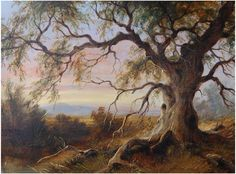 James Howe Carse - Wikipedia, the free encyclopedia (1819-1900): Old Gum Tree at Riddells Creek, Vic.