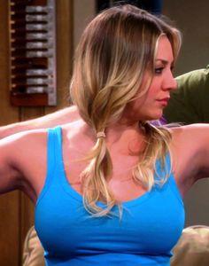 Kaley Cuoco Tits   kaley cuoco tits Kaley Cuoco Doing Some Yoga With Sheldon On The Big ...