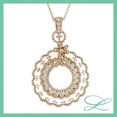 Yellow diamonds- a must have glamour pendant