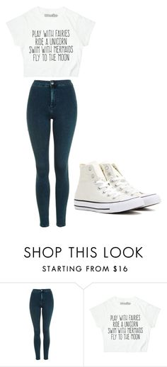 """Untitled #188"" by cruciangyul on Polyvore featuring Topshop and Converse"