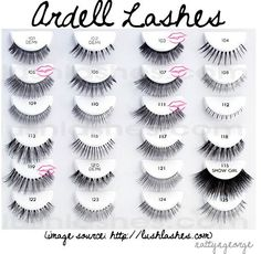 Want to buy Ardell lashes and other fabulous false eyelashes? Get trendy and attractive lashes at a discounted rate from Madame Madeline Love Makeup, Makeup Tips, Beauty Makeup, Makeup Looks, Dear Makeup, Makeup Products, Beauty Products, Fake Lashes, False Eyelashes