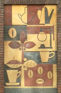 dutch wall art 1950s