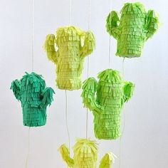 Happy Cinco de Mayo  how fun are these cactus pinatas from @ohhappyday by lolaandivypr