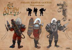 Master Gunner undersea costume
